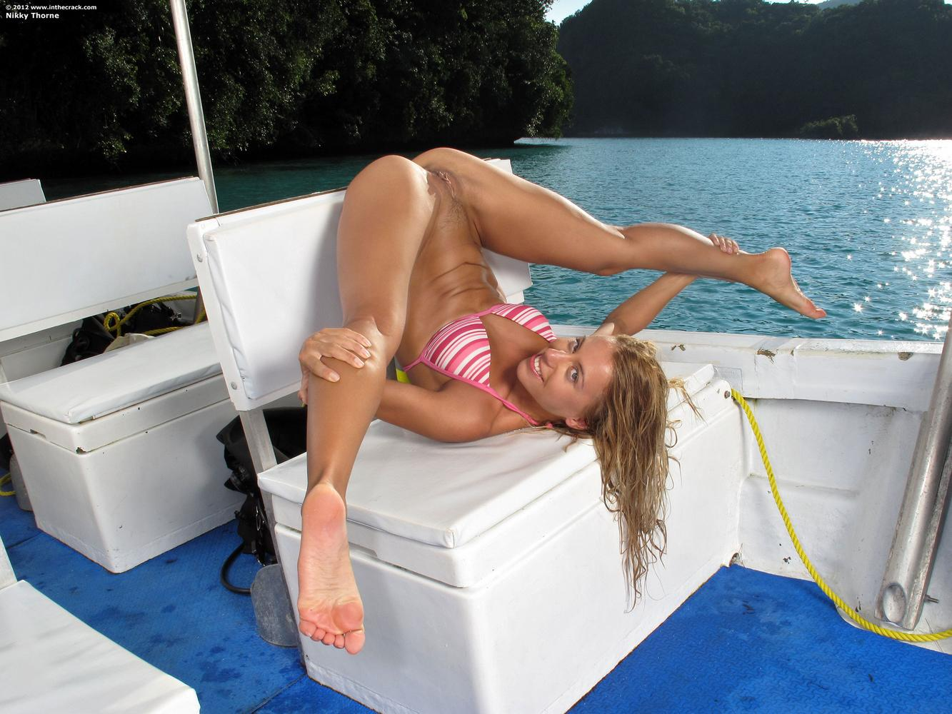 Cleared nikky thorne nude underwater scuba diving something is