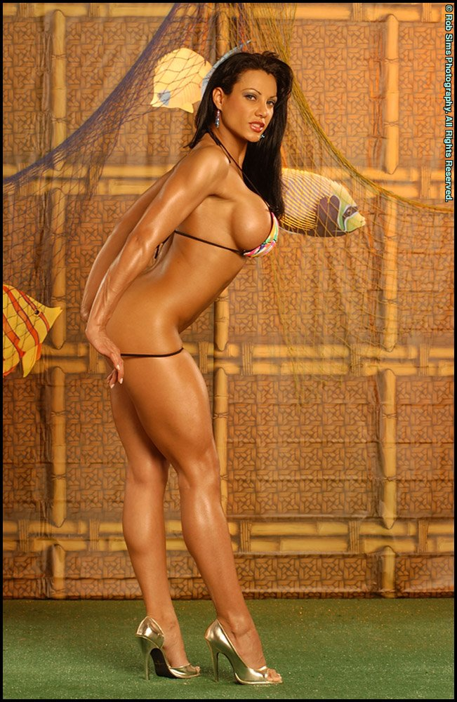 Exotica Is High And Weights Around Lbs Her Measurements Are
