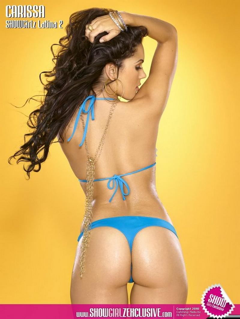 Hot Latina Carissa Rosario Posing In Various Bikinis